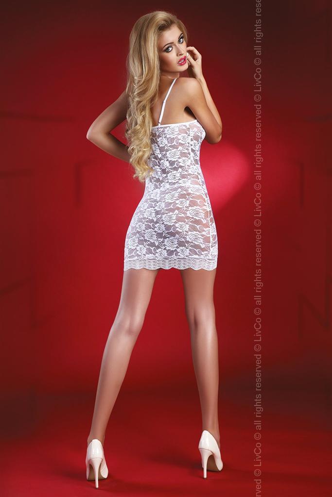 Košilka Latisha - LivCo Corsetti Barva: bílá, Velikost: L/XL