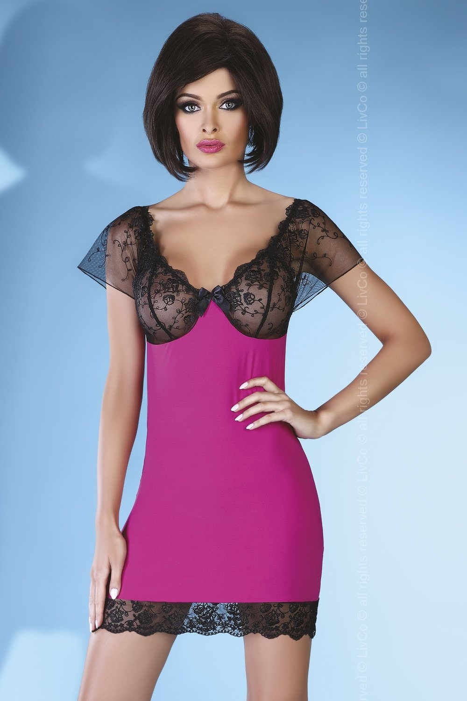 Košilka Adonisa - LivCo Corsetti Barva: růžová, Velikost: S/M