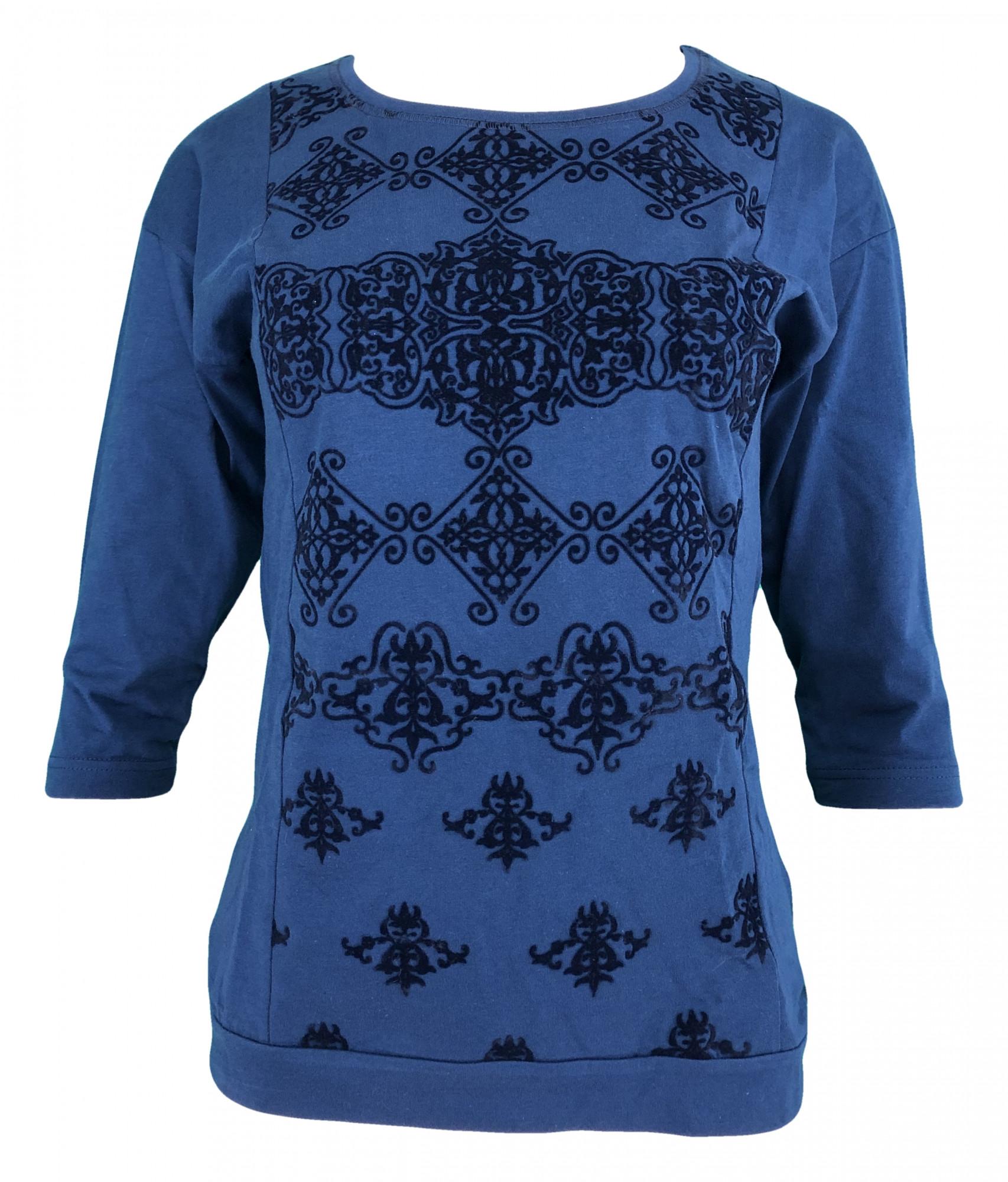 Dámské pyžamo 4318 - Vienetta Barva: modrá, Velikost: S