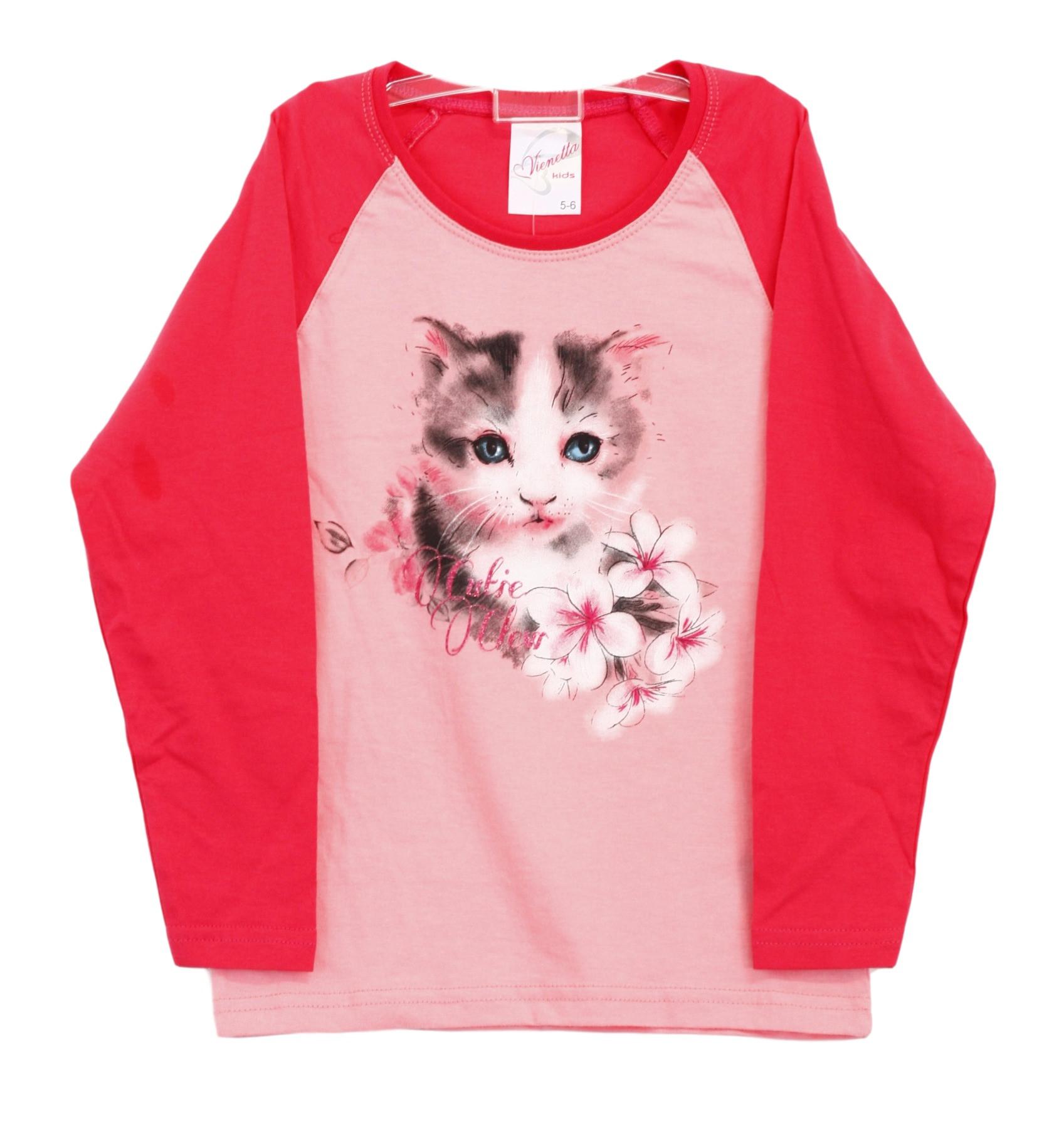 Dětské pyžamo 4574 - Vienetta Barva: růžová, Velikost: 116