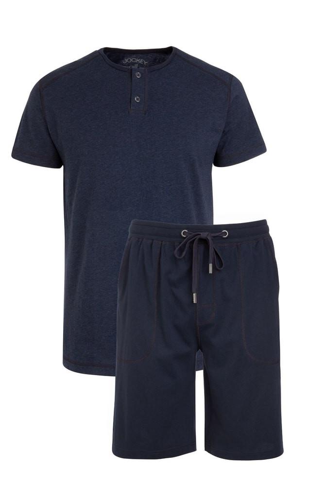 Pánské pyžamo 500006 - Jockey Barva: tm.modrá, Velikost: XL