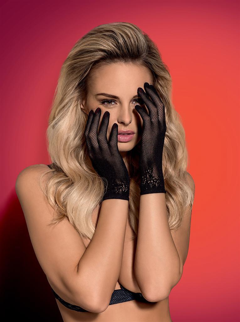 Rukavičky Lustella gloves - Obsessive Barva: černá, Velikost: uni