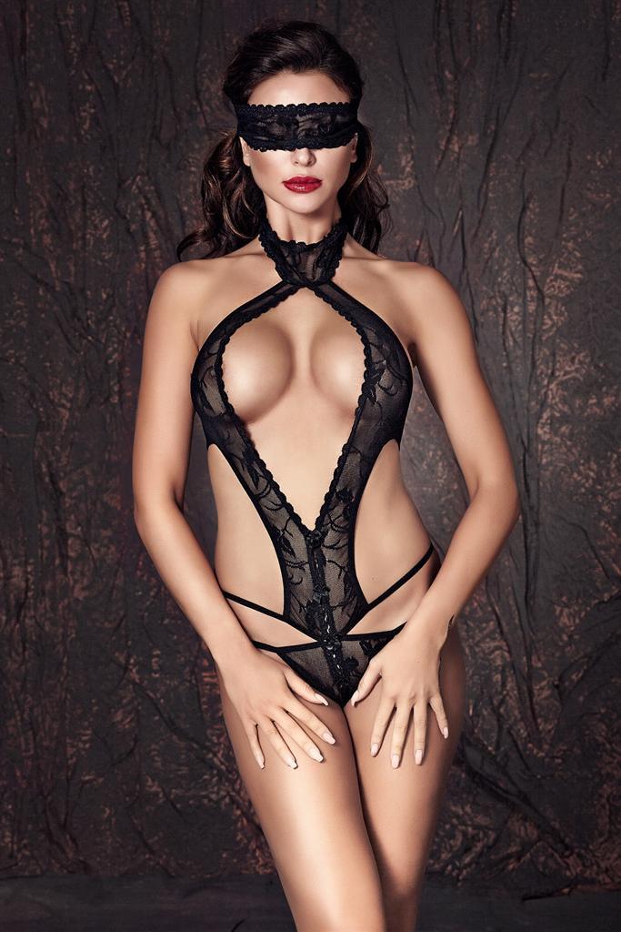 Body Alexandra - Anais Barva: černá, Velikost: XL
