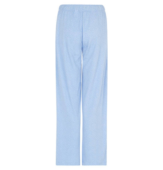 Dámské pyžamo - kalhoty QS1719E - Calvin Klein Barva: modrá-proužek, Velikost: XS