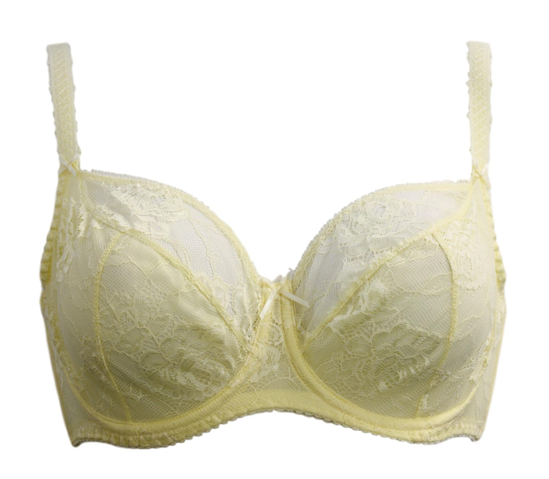 Podprsenka 1281 Maxi - Ava Barva: žlutá, Velikost: 80I