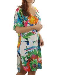 Dámská tunika ASA4470- Lise Charmel Barva: květinový print, Velikost: uni