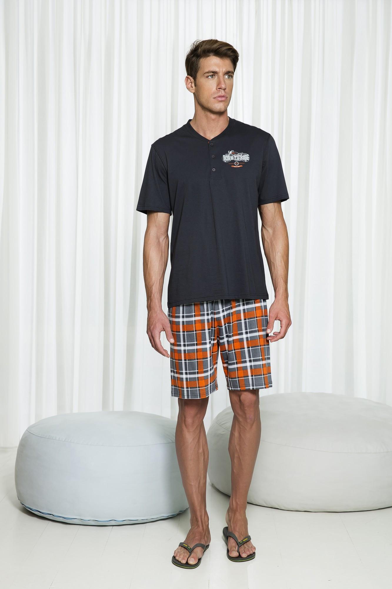 Pánské pyžamo 6175 - Vamp Barva: original, Velikost: S
