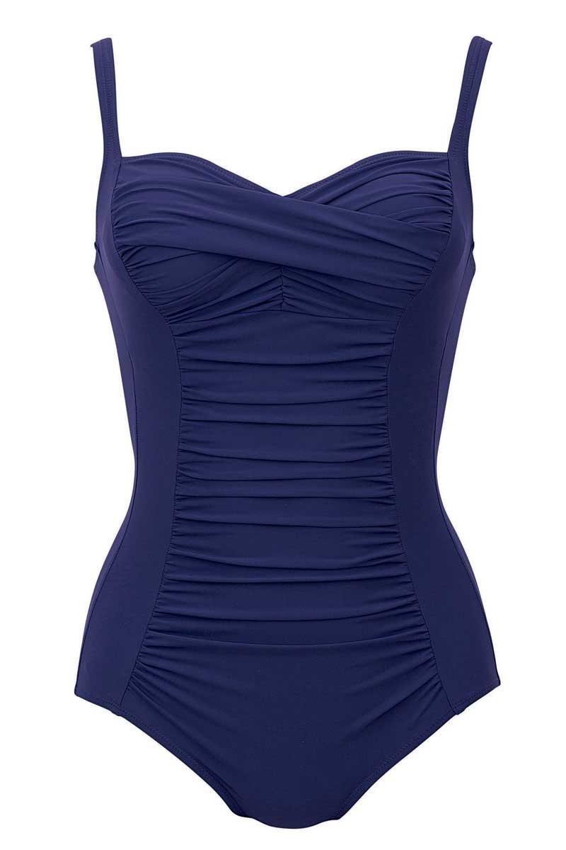 Plavky jednodilné Michelle L67382 - Anita Barva: fialová, Velikost: 40B