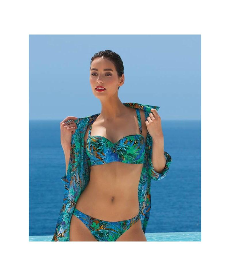Dámské plavky ABA5473 - Lise Charmel Barva: tropic, Velikost: 75E