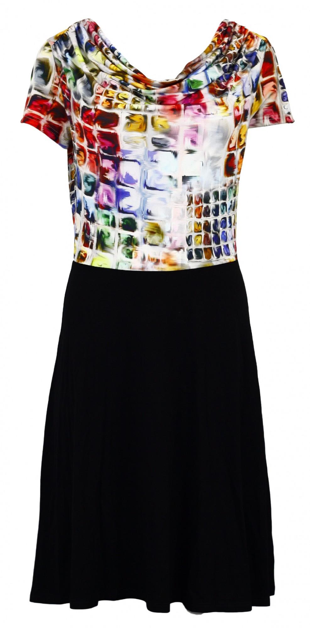 Šaty Mozaika Vodaka - Favab Barva: originál, Velikost: S
