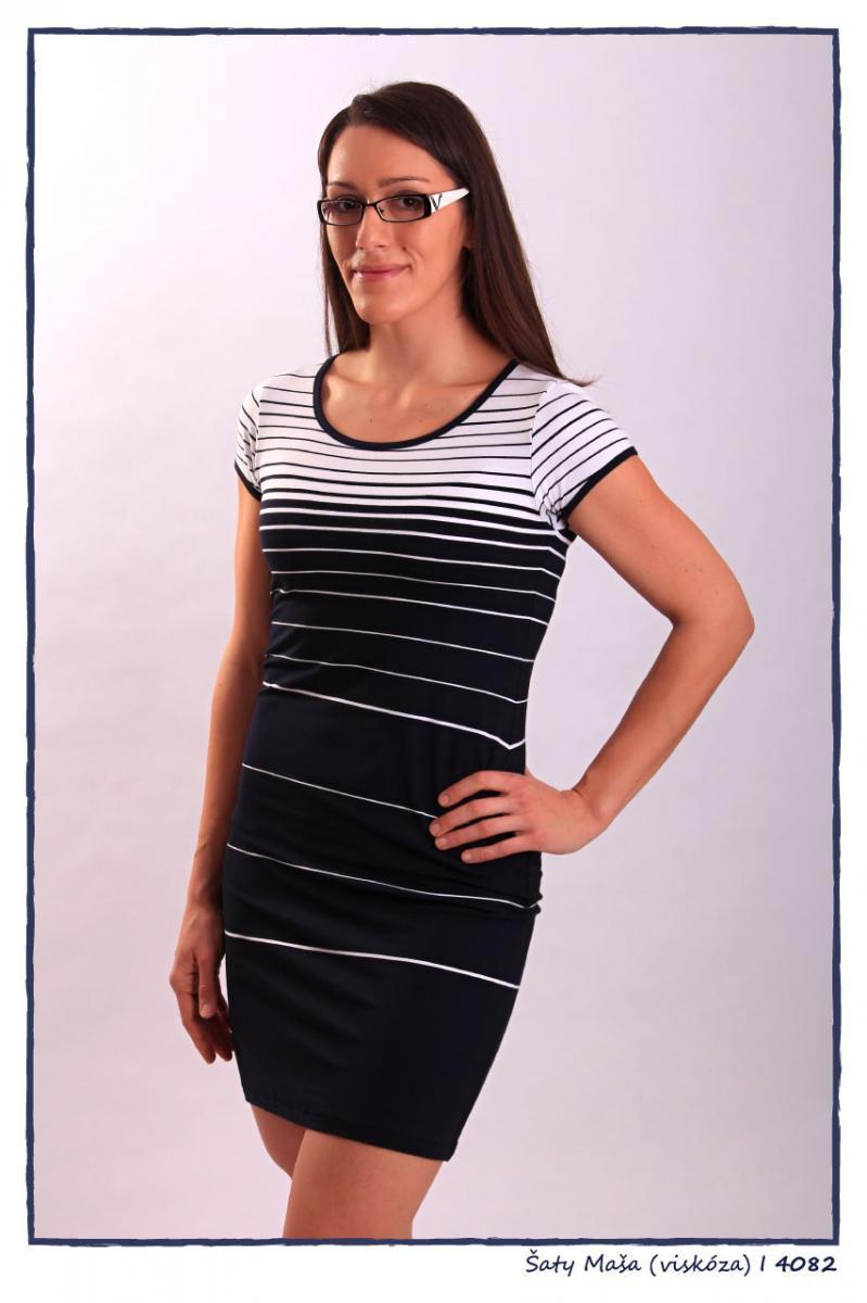 Dámské šaty 4082 - Sailor Tom Barva: námořnický styl, Velikost: S