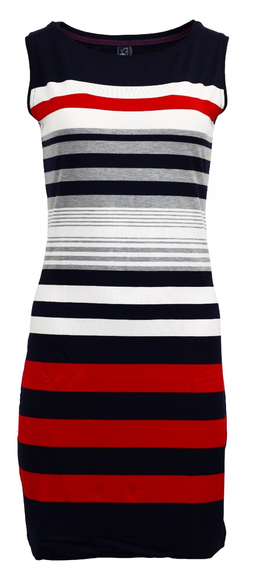 Dámské šaty 4072 - Sailor Tom Barva: námořnický styl, Velikost: S