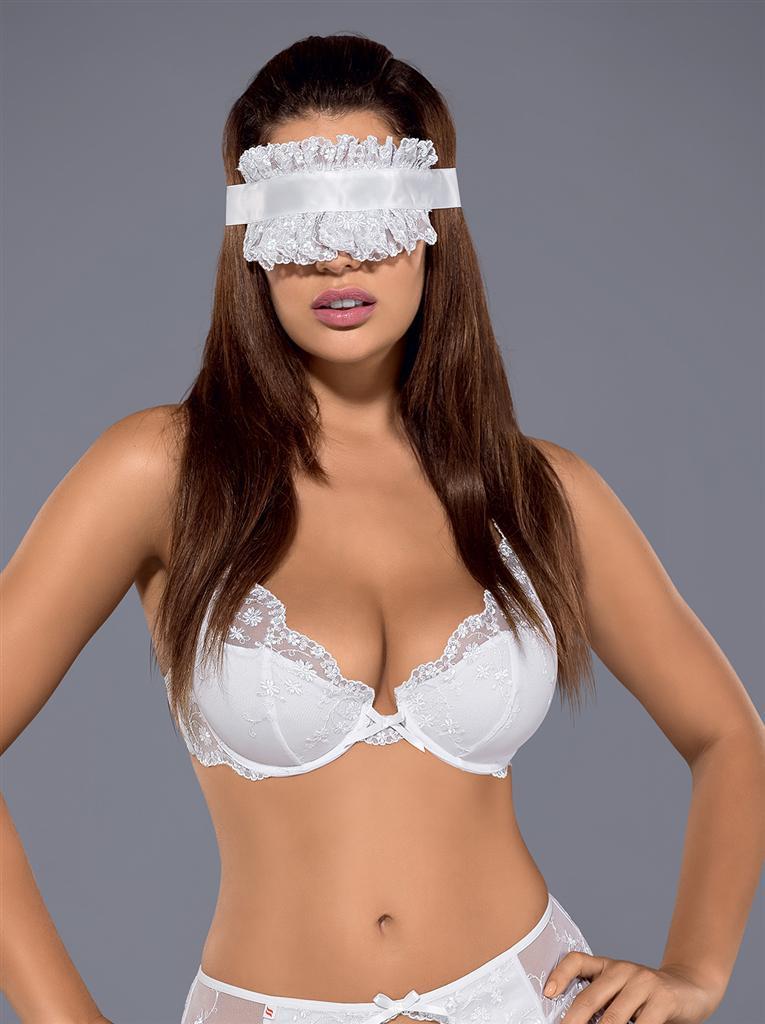 Maska Etheria mask - Obsessive Barva: bílá