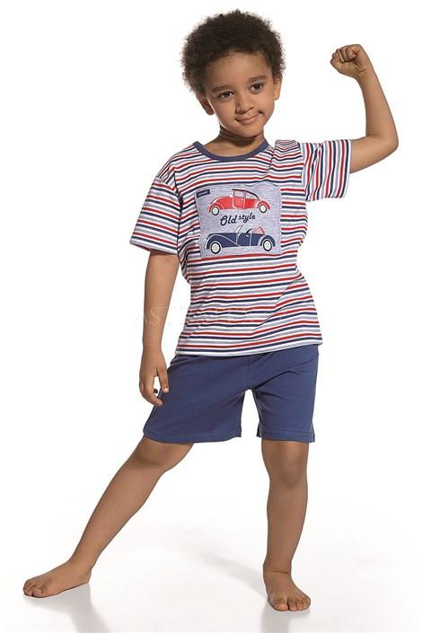 Dětské pyžamo Cornette 789/27 Old style Barva: modro-bílo-červená, Velikost: 122/128