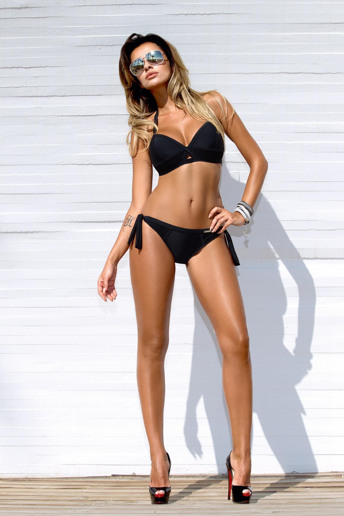 Dámské dvoudílné plavky Gabbiano Gaby 04 Barva: černá, Velikost: 38