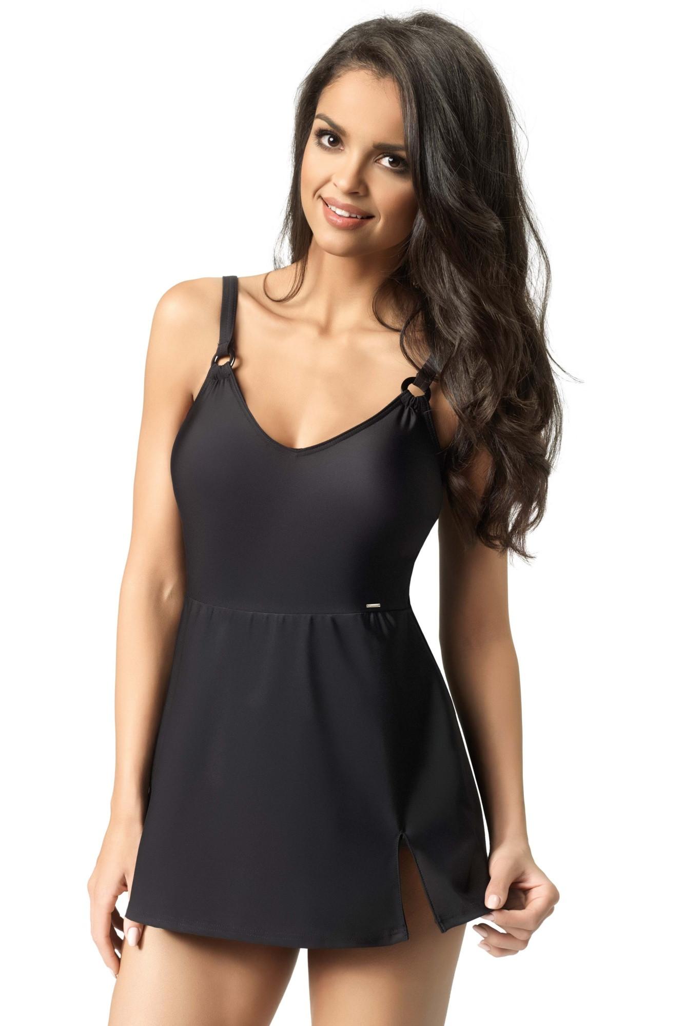 Plavkové šaty Claudia - Gwinner Barva: černá, Velikost: 44