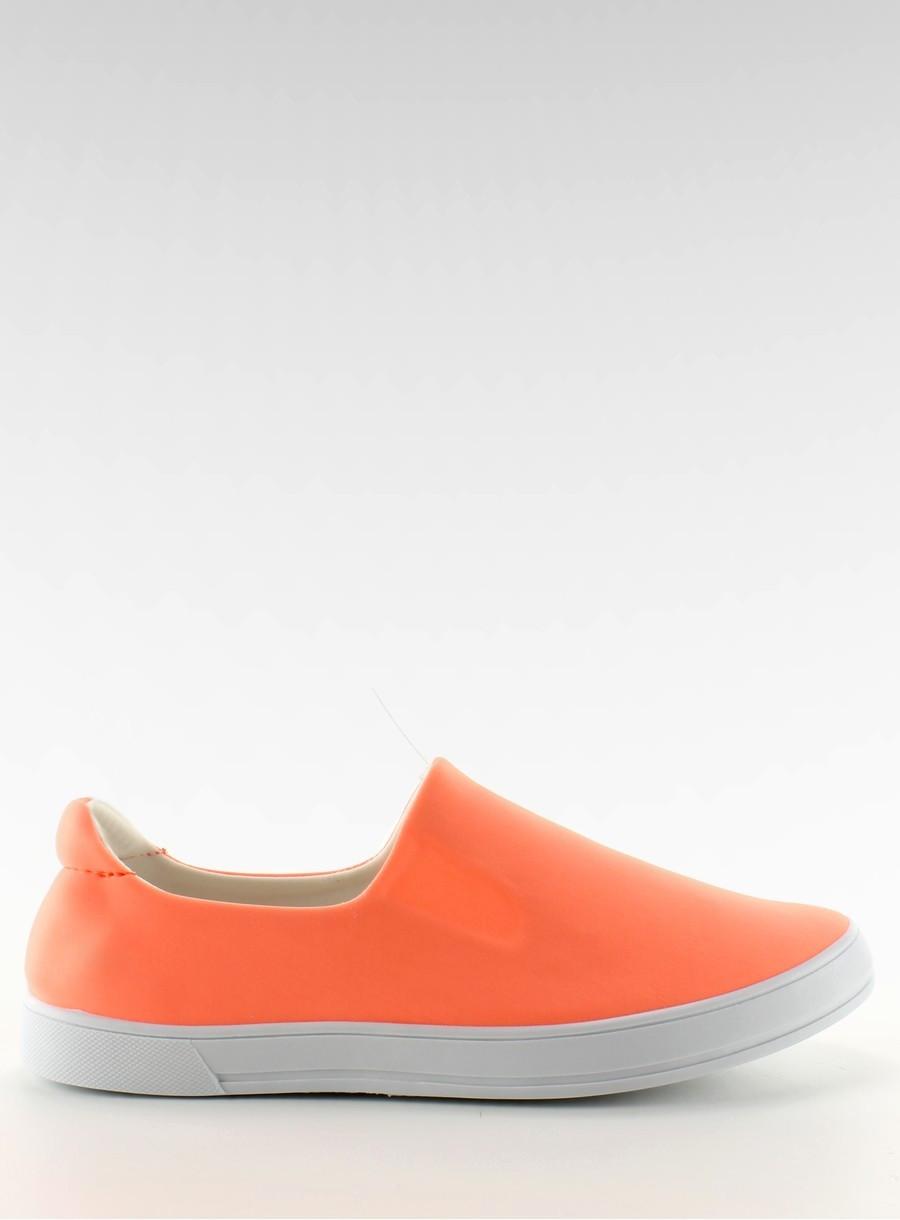 Oranžové dámské tenisky JX21P - Fashion Boty Barva: oranžová, Velikost: 40
