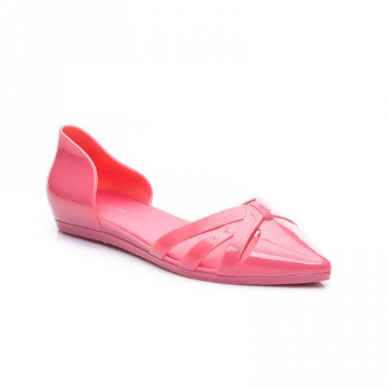 Dámské gumové sandálky 9125P - Fashion Boty Barva: růžová, Velikost: 37