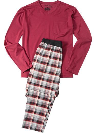 Pánské pyžamo 540006 - Jockey bordo L