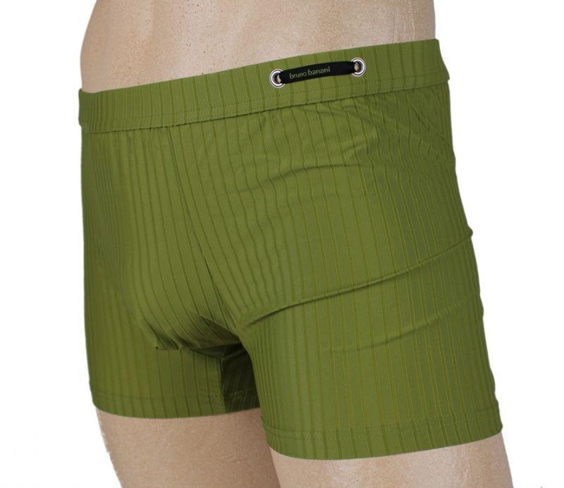 Pánské boxerky 2201-9810 - Bruno Banani Barva: zelená, Velikost: L