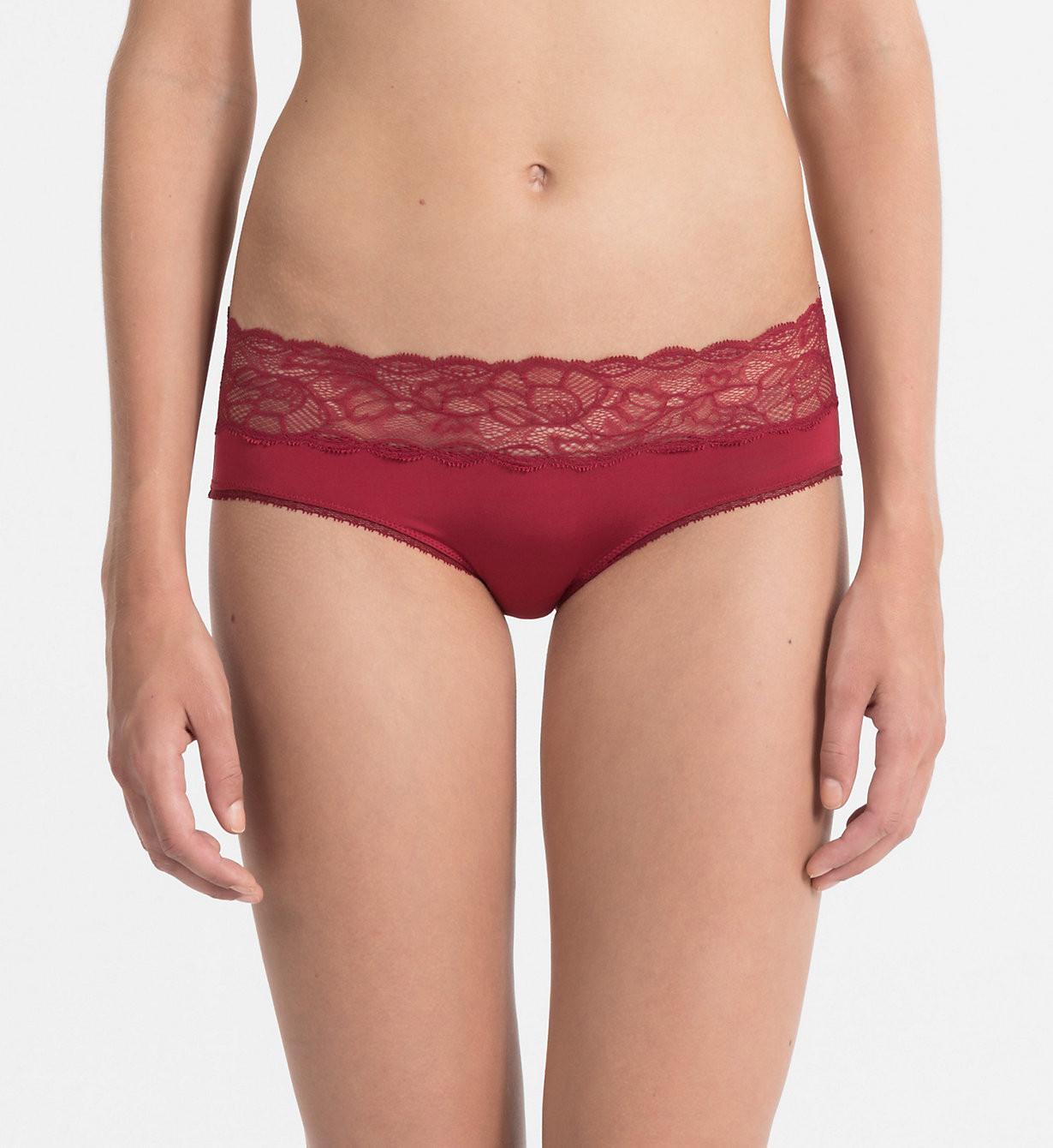 Kalhotky Seductive Comfort QF1586E - Calvin Klein Barva: červená, Velikost: S