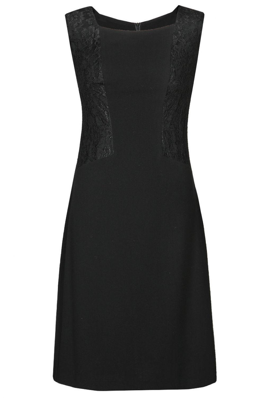Dámské šaty FSU767 - Fokus Barva: černá, Velikost: 50