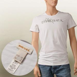 Pánské triko 00CG24-00AJM - Diesel barva: bílá, velikost: M