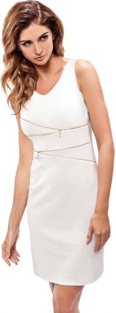 Dámské šaty 190081 - Enny Barva: smetanová, Velikost: 42