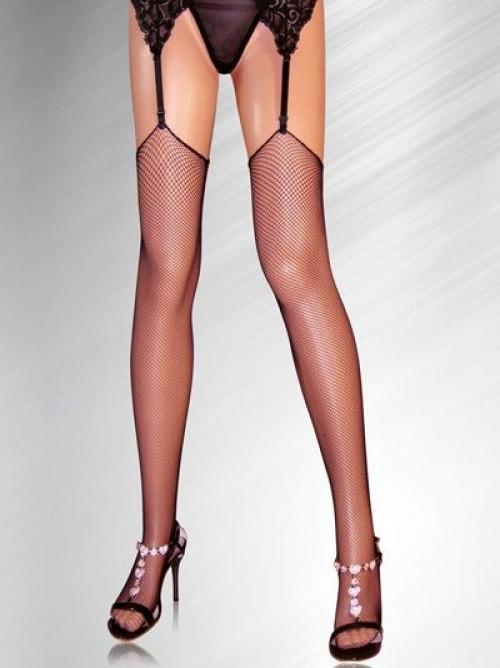 Erotické síťované punčochy SLH-2115 - Alexis Barva: černá, Velikost: uni
