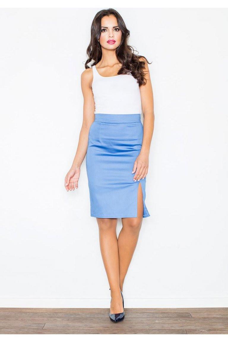 Dámská sukně Figl M207 Barva: béžová, Velikost: XL