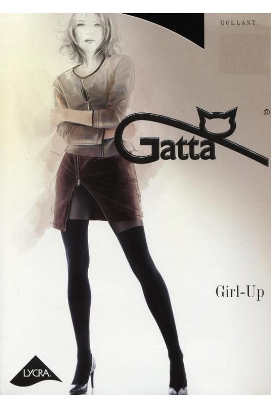 Punčochové kalhoty Girl-up 25 - Gatta Barva: černá, Velikost: L