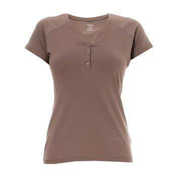 Vrchní díl pyžama S1588E - Calvin Klein barva: hnědá, velikost: S