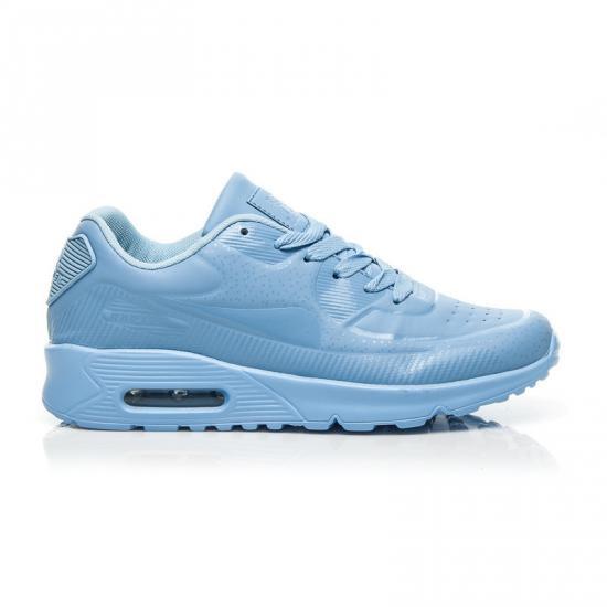Modré tenisky B747 - Fashion Boty Barva: sv.modrá, Velikost: 39