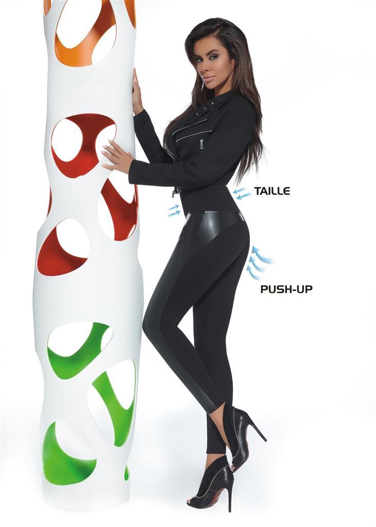 Legíny Ally - Bas Bleu Barva: černá, Velikost: S