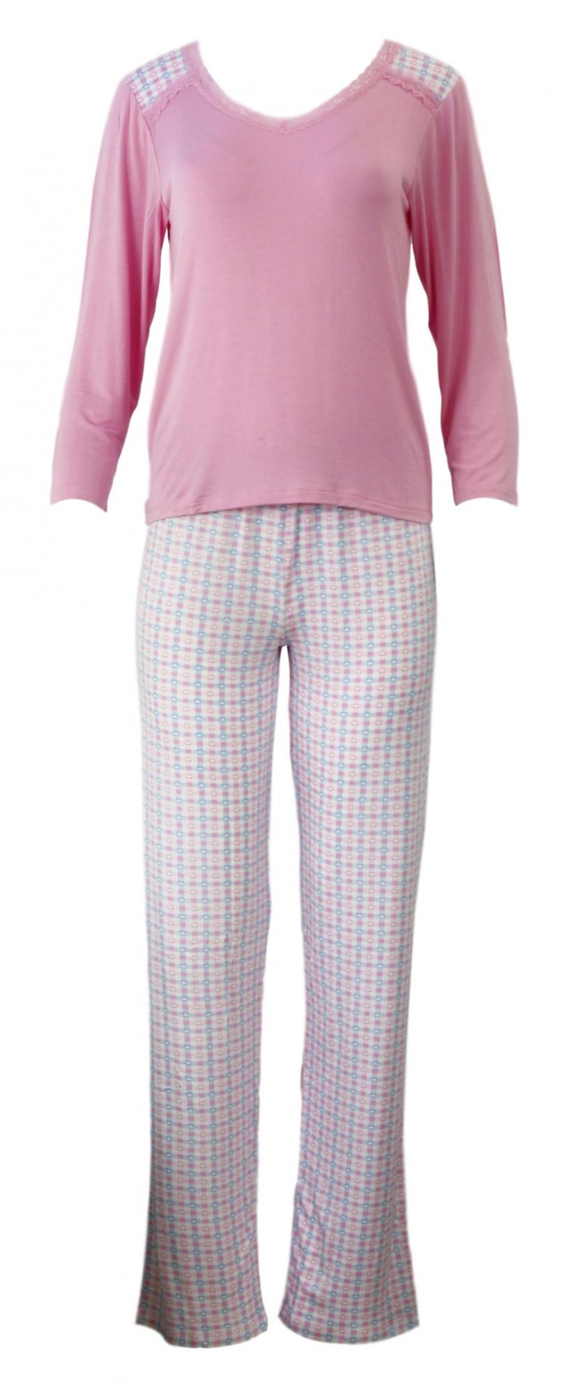 Dámské pyžamo 784 YPJ - Cocoon Secret Barva: růžová, Velikost: S