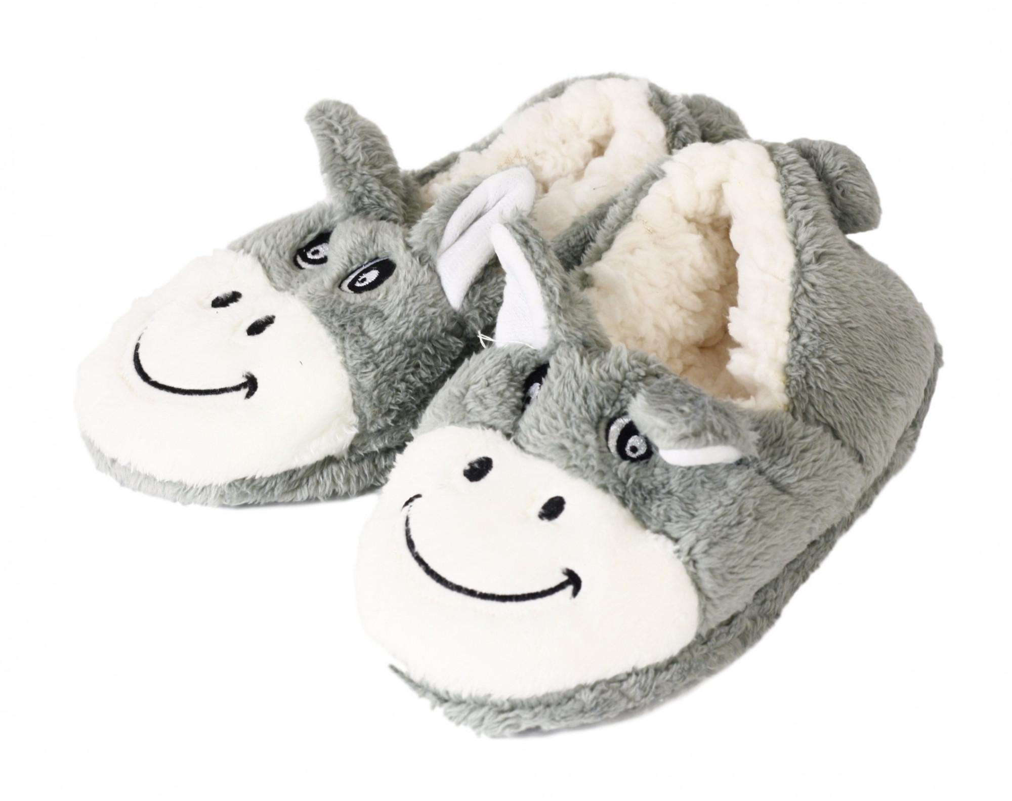 Pevné domácí papuče 1600-002 - Moraj Barva: opice, Velikost: 36/38