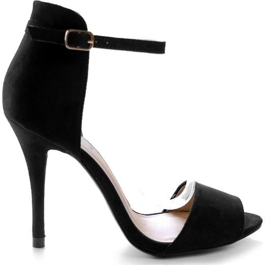 Dámské elegantní sandály 2197 - Fashion Boty Barva: černá, Velikost: 39