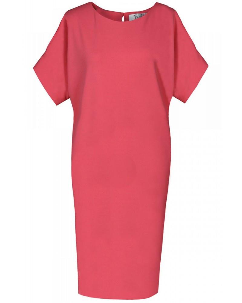 Dásmké šaty FSU766 - Fokus červená 42