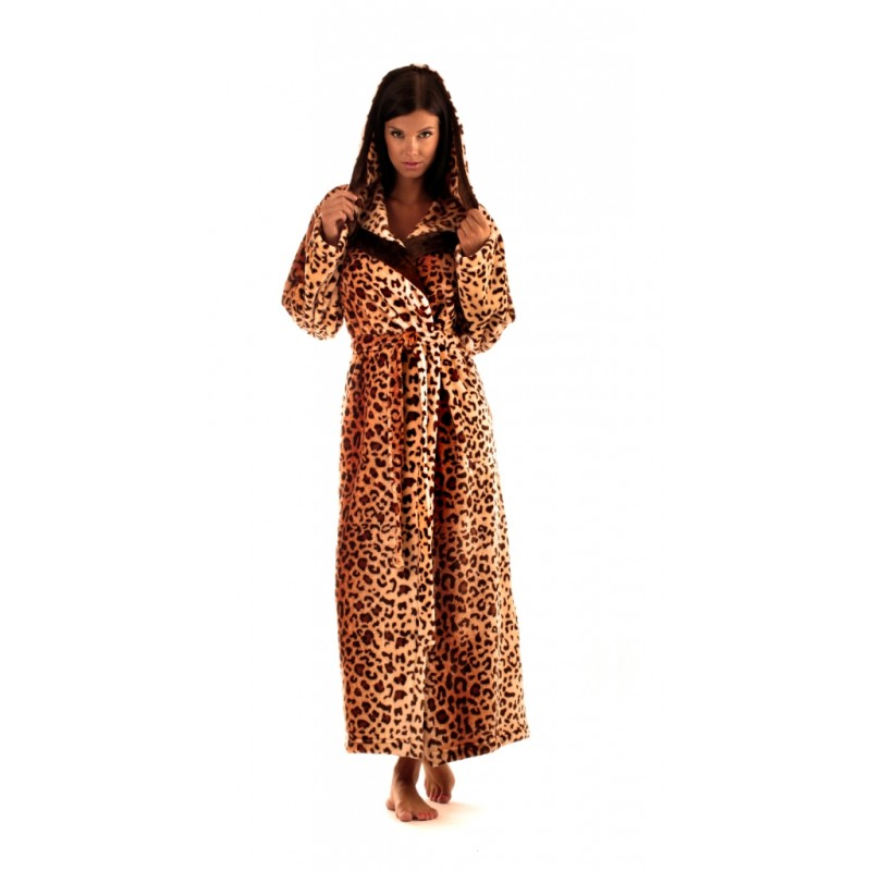 Dámský župan Jungle 3956 - Vestis Barva: tygr, Velikost: XL