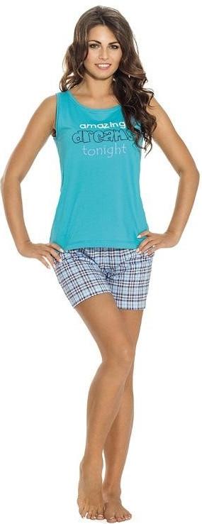 Dámské pyžamo 640 - Luna Barva: šedá, Velikost: S