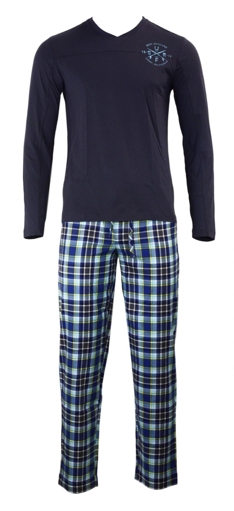 Pánské pyžamo 552003 - Jockey Barva: modrá, Velikost: M
