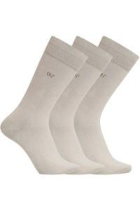 Pánské ponožky CR7 3pack - Cristiano Ronaldo Barva: bílá, Velikost: 40-46