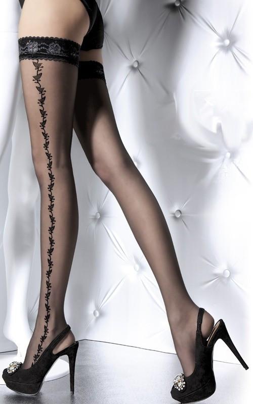 Punčochy Victoria G4025 20 DEN - Fiore Barva: bílá, Velikost: 3-M