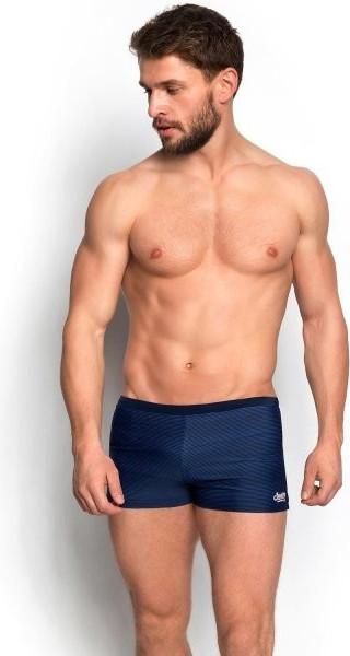 Pánské plavky boxerky Henderson 34182 Barva: tmavě modrá, Velikost: M