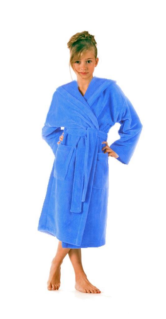 Dětský župan Tampa 91495353 - Vestis Barva: modrá, Velikost: 152
