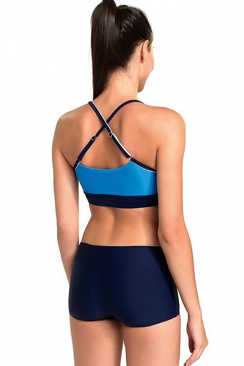 Dámské plavky Rosa - Gwinner Barva: modrá, Velikost: 38