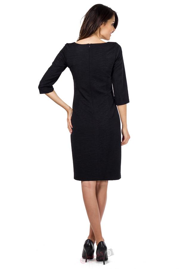 Společenské šaty model 51245 Bass Barva: černá, Velikost: 48