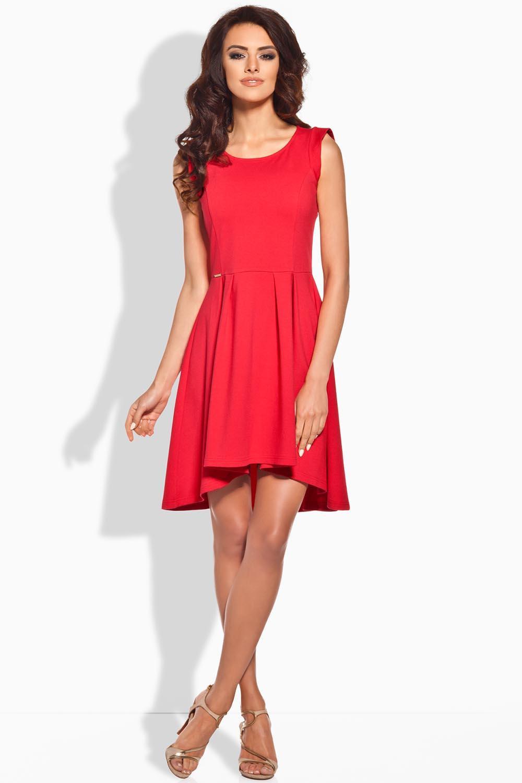 Dámské šaty L127 - Lemoniade Barva: červená, Velikost: M