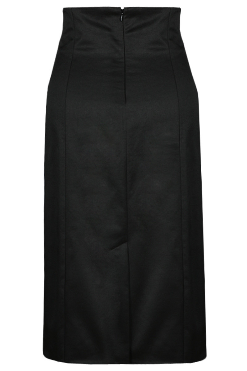 Sukně model FSP636 - Fokus Fashion Barva: černá, Velikost: 38