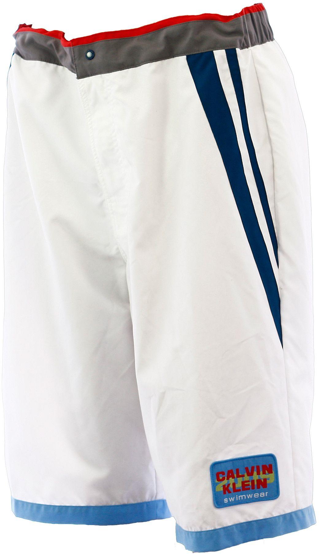 Plavky 59021W9 - Calvin Klein Barva: bílá, Velikost: XL